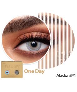 عدسات ذهب اليومية اللون ALASKA #27