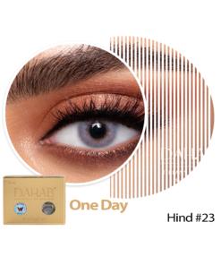 عدسات ذهب اليومية اللون HIND #23