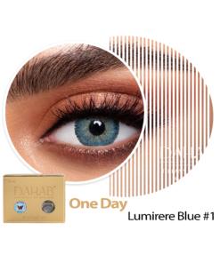 عدسات ذهب اليومية اللون LUMIRERE BLUE #1
