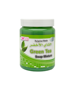 خلطة صابونية بالشاي الاخضر كويت شوب 500 غرام