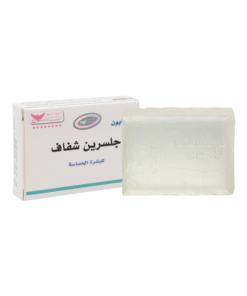صابون جلسرين شفاف للبشرة الحساسة من كويت شوب 100 غرام